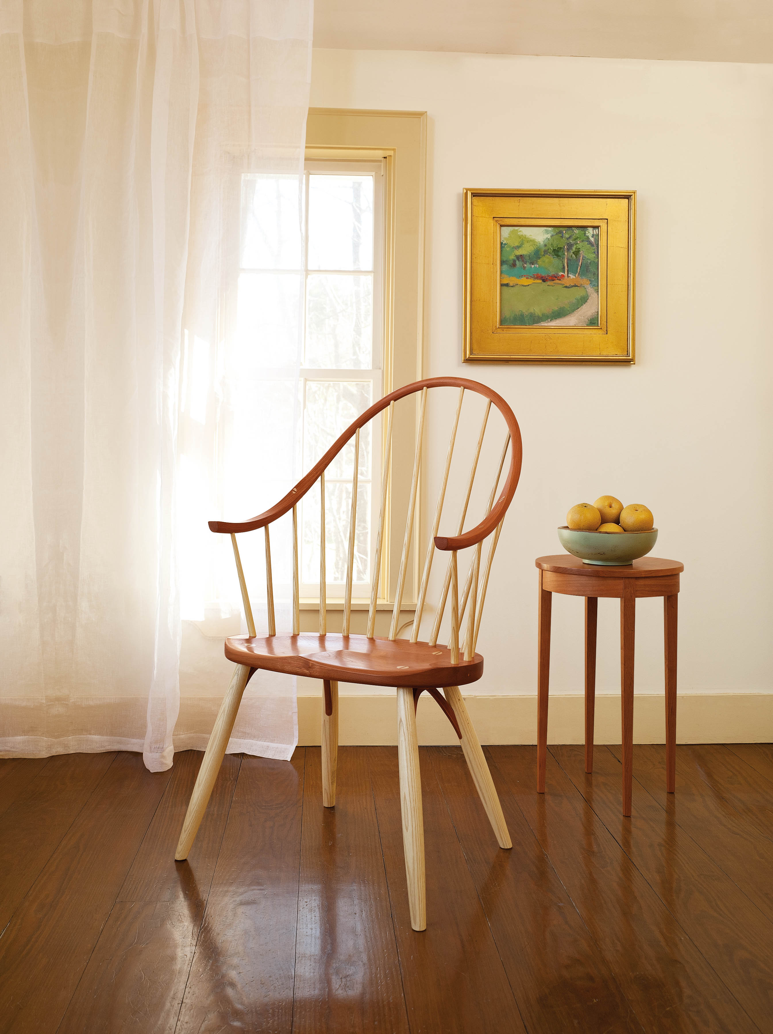 Moser Continuous Arm Chair