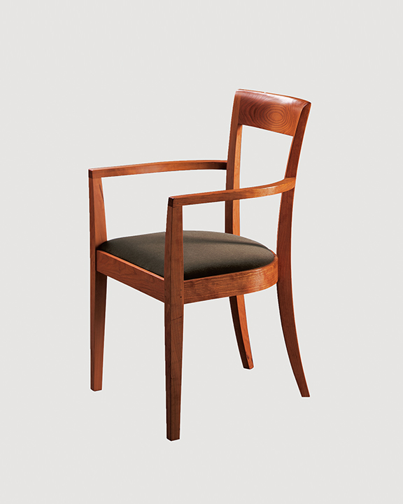 Harpswell Arm Chair in Cherry