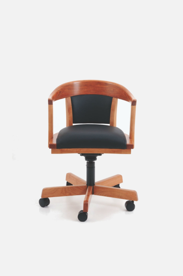 Regent's Swivel Chair - Cherry
