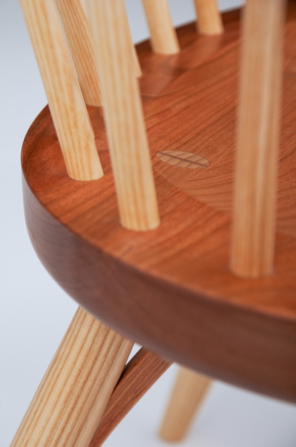 Continuous Arm Chair - Cherry