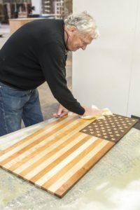 Thos. Moser - Handmade American Flag