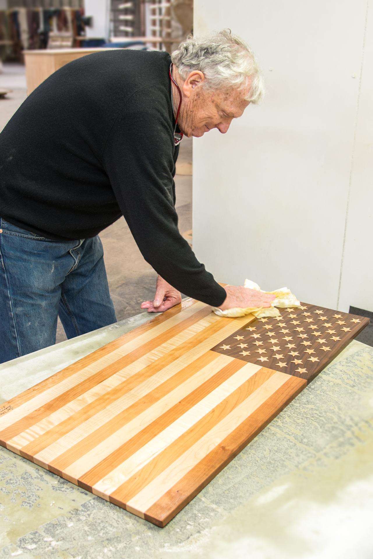 Handmade American Flag - Thos. Moser