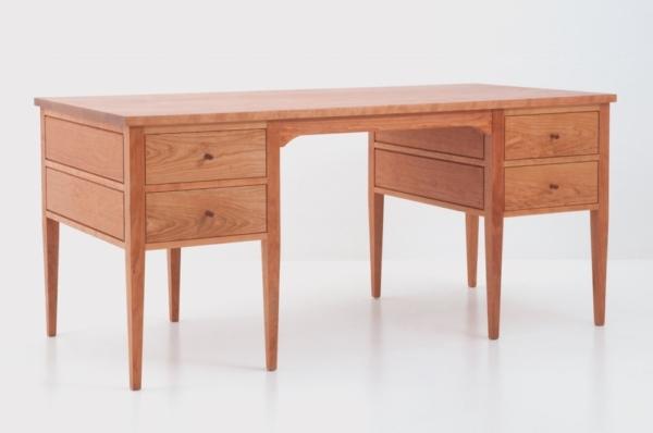 Eight Leg Writing Desk - Cherry