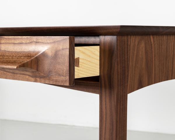 Aria Writing Desk in Walnut
