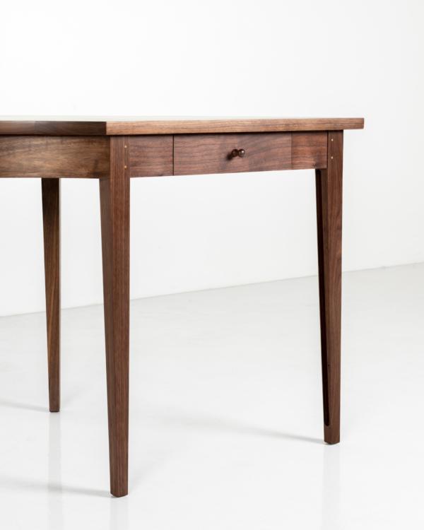 Radius Desk in Walnut
