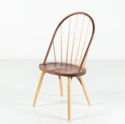 Bowback Chair in Walnut