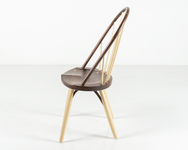 Bowback Chair in Walnut