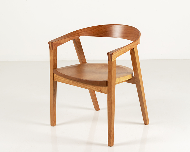 NYPL Branch Chair in Cherry