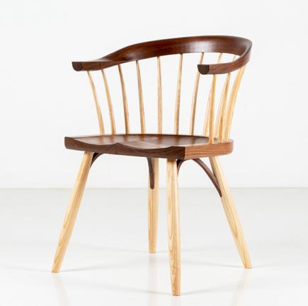 Newport Chair in Walnut