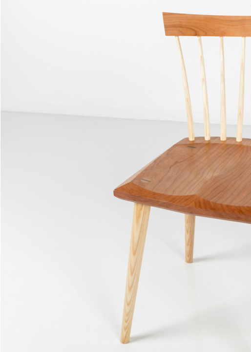 Eastward Studio Chair in Cherry