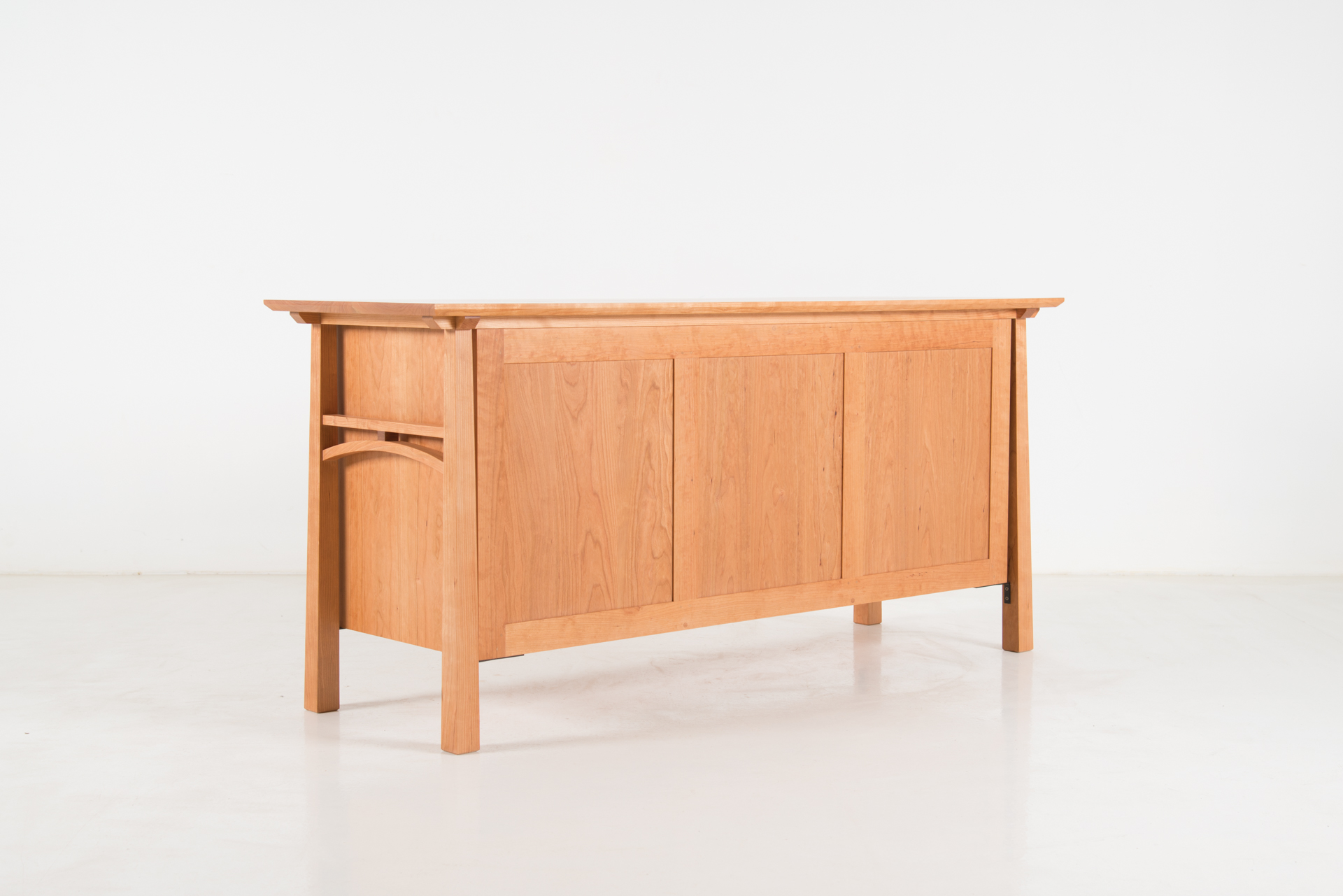 dark buffet rack products glass console sideboard doors with cherry display shelf wood wine storage cabinet imageedit drawers table