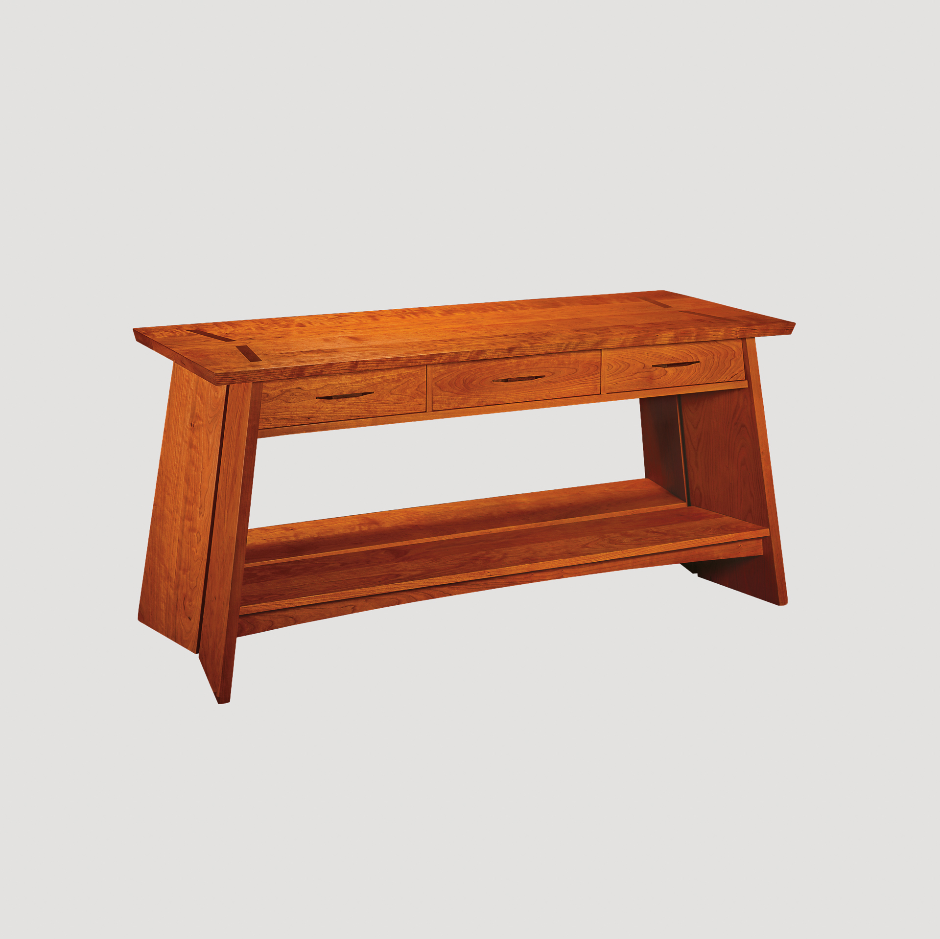 table american bungalow bck lr americanbungalow diningcase cherry thos sideboard moser product