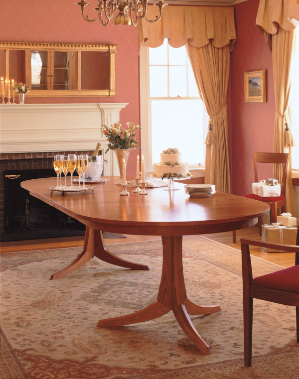 Georgetown Table - Double Pedestal