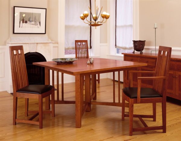 New Century Pedestal Table