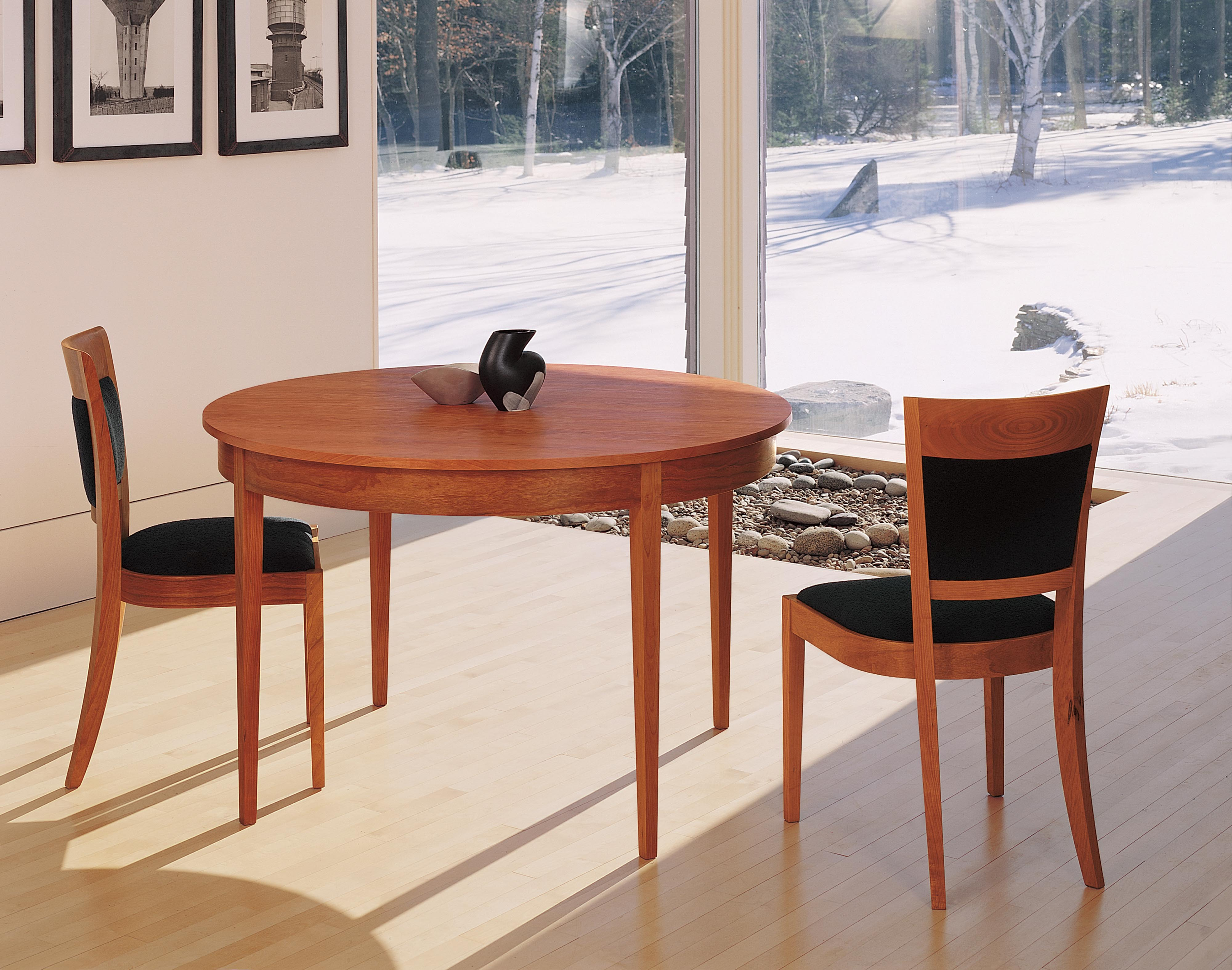 round ring table thos moser. Black Bedroom Furniture Sets. Home Design Ideas