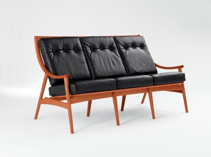 Ellipse Sofa - Three Place