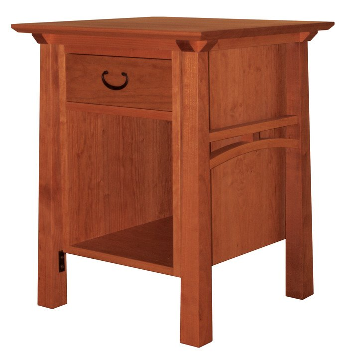 American bungalow nightstand thos moser for American bungalow collection