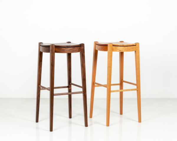 Island Stools in Walnut and Cherry