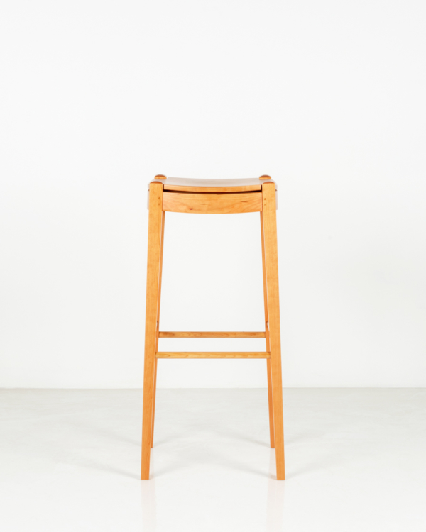 Island Stool in Cherry