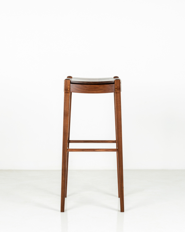 Island Stool in Walnut