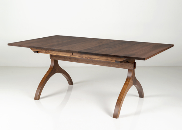 Wishbone Extension Table in Walnut