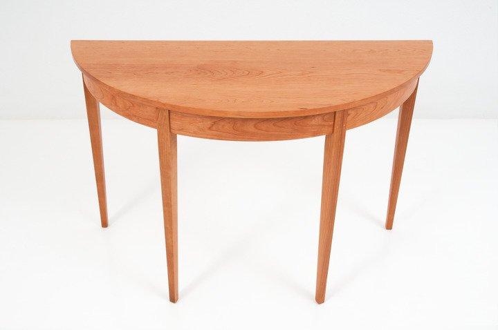 half round table thos moser. Black Bedroom Furniture Sets. Home Design Ideas