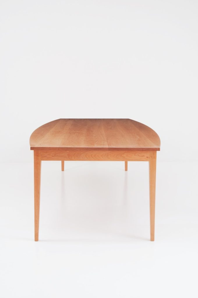 Boat Top Table - Cherry