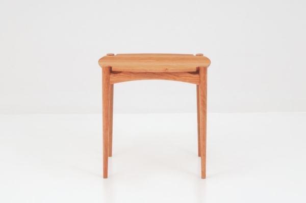 Ellipse End Table - Cherry