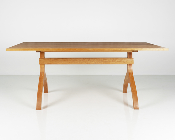 Wishbone Table in Cherry