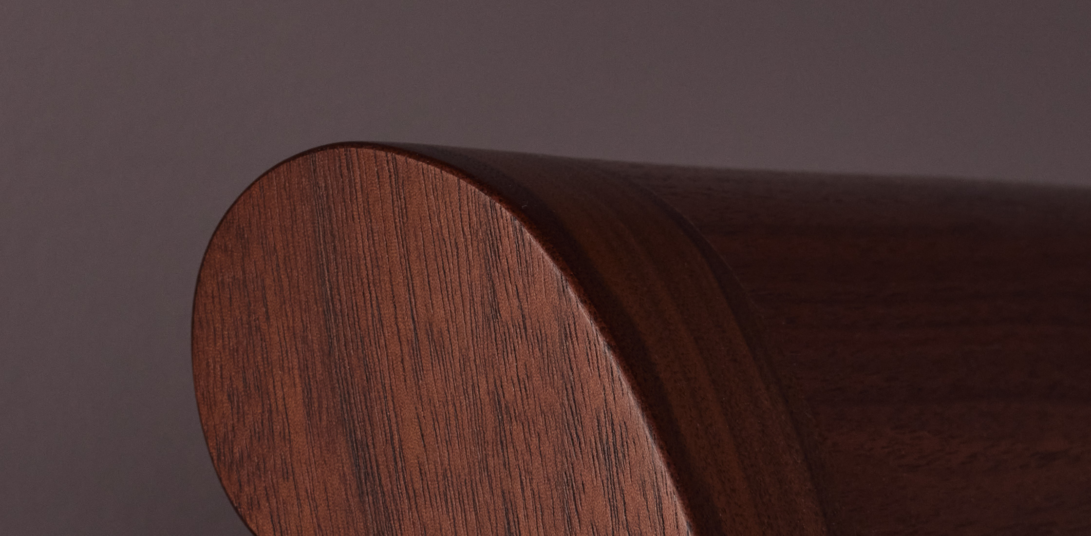 Close up of sleigh bed. | View Holiday Sale
