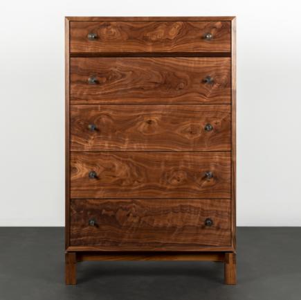 Studio Dresser Vertical in Walnut