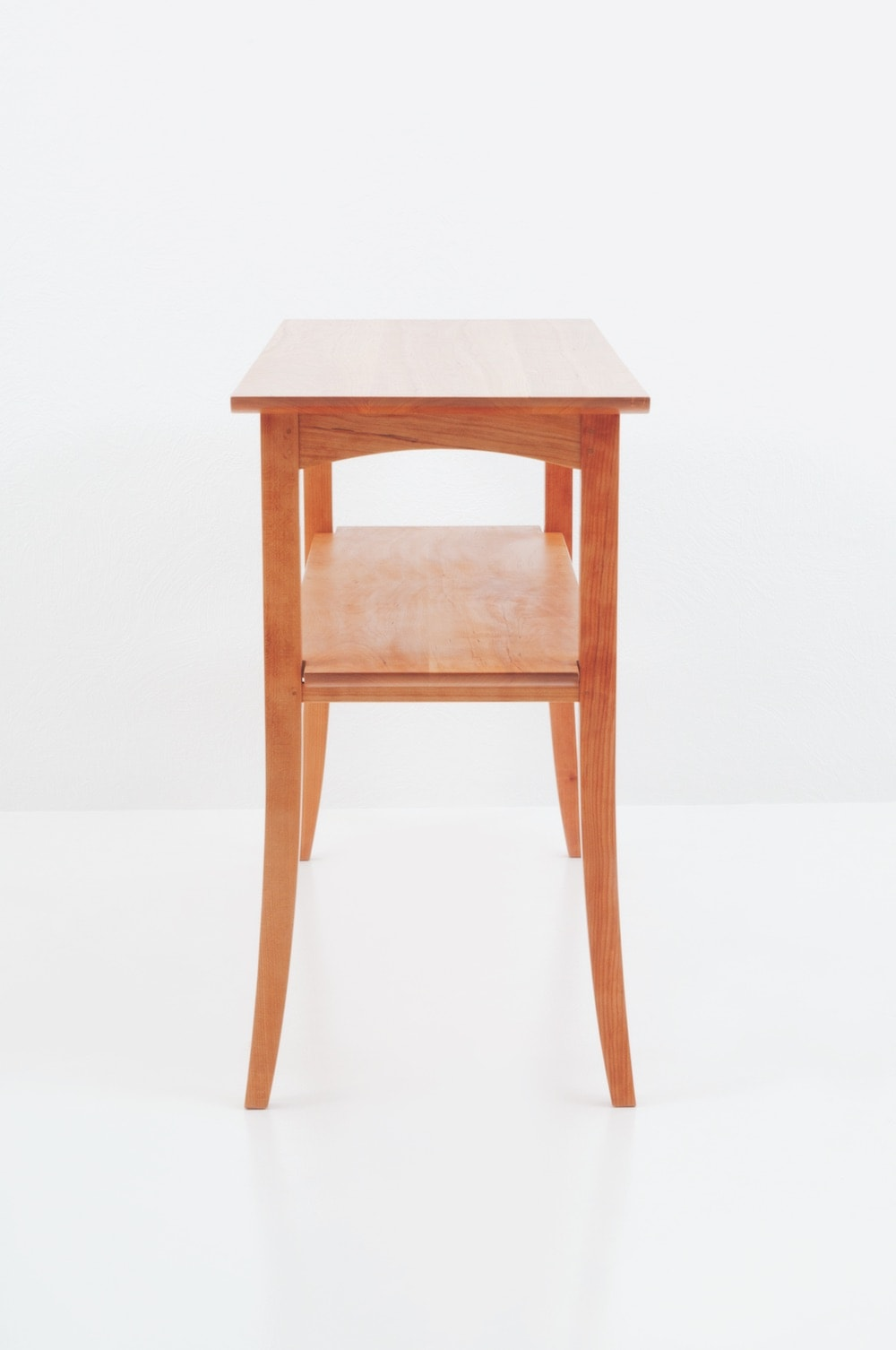 Wing Hall Table - Cherry