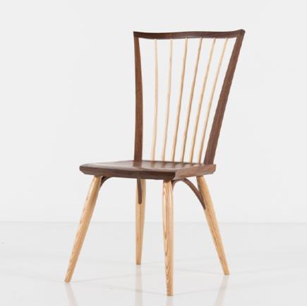 Catena Side Chair in Walnut