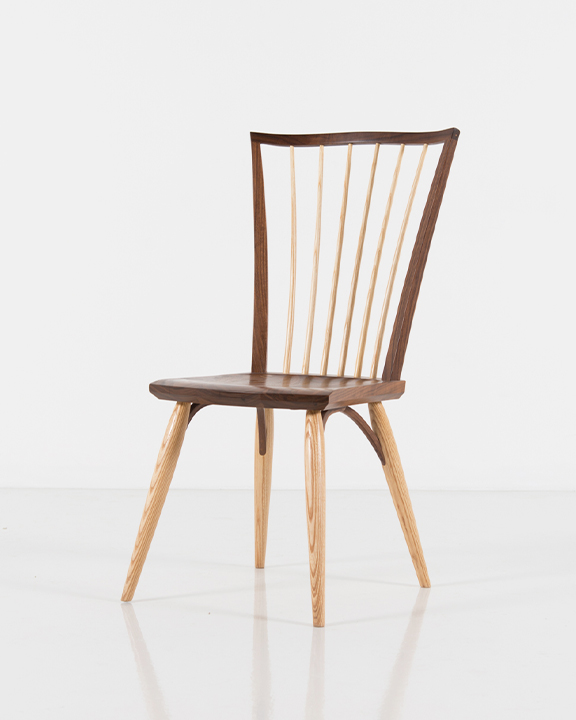 Catena Side Chair in Walnut