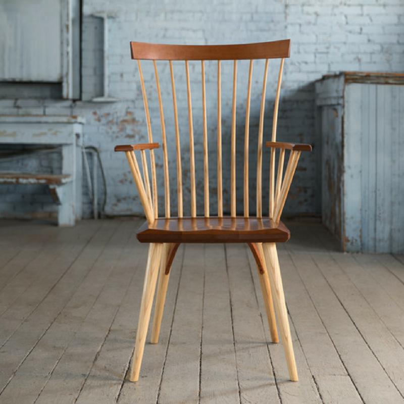 Eastward Arm Chair Shaker High Back Hardwood Chair Thos Moser