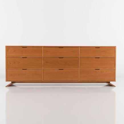 Vita Nine Drawer Dresser in Cherry