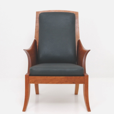 Wing Chair - Cherry