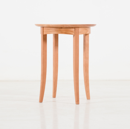 Wing End Table in Cherry